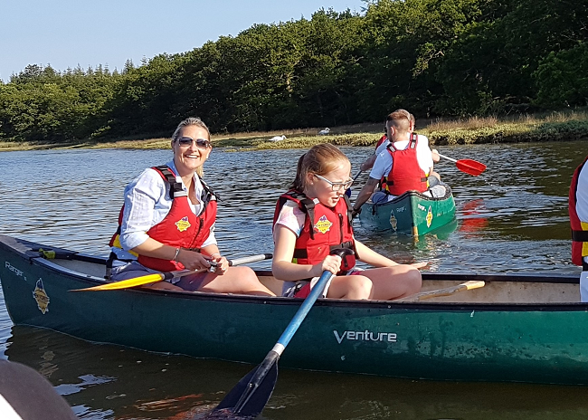 20170616 181502 2 Resized - KFA Connect's Paddle to the Pub 'Canoeing Capers'!