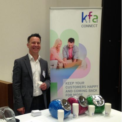 Ageas Stand Cropped 2 - KFA Connect at the Hampshire Chamber Business Exhibition
