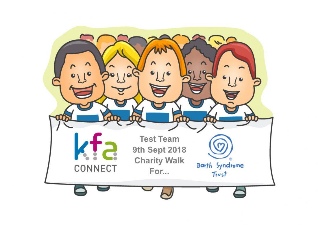 Barth Syndrome Trust Charity Walk e1536067436894 - KFA Test Team raise money for Barth Syndrome Trust