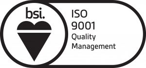 Black on White BSI Assurance Mark ISO 9001 300x139 - ISO 9001