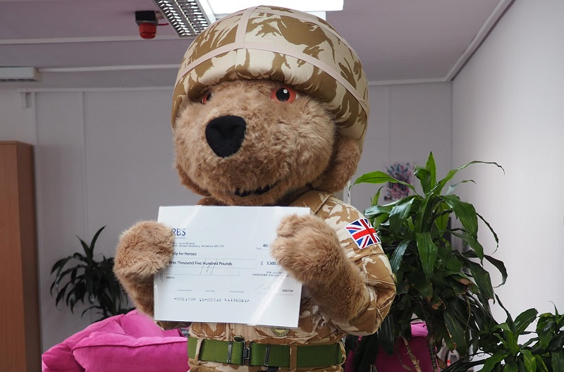 Help for Heroes Bear - Blog