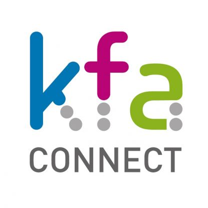 Logo for Small Round Label Transparent - KFA Connect Support Ringwood Carnival
