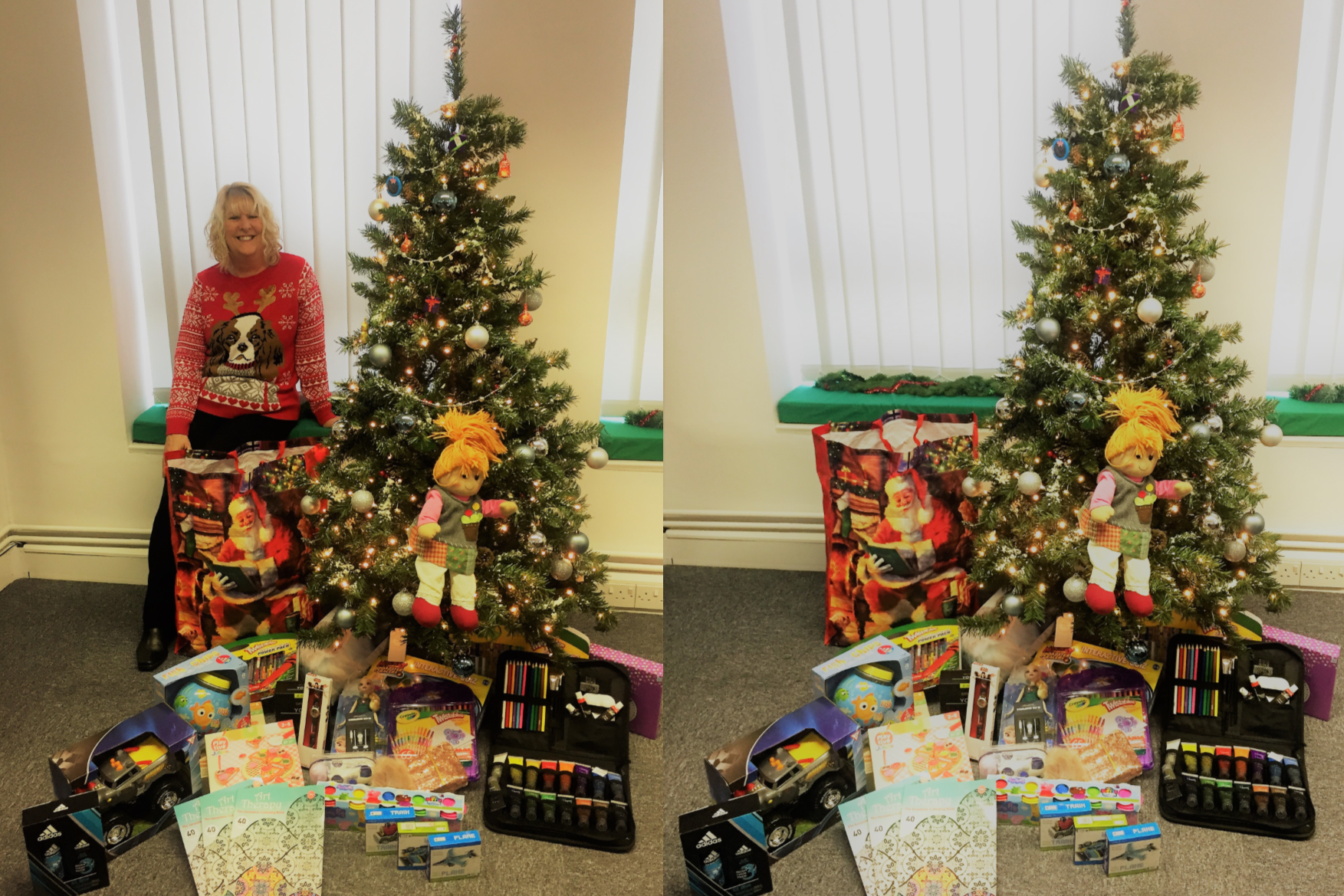 Mission Xmas - Supporting the Wave 105 'Mission Christmas' Cash for Kids Appeal