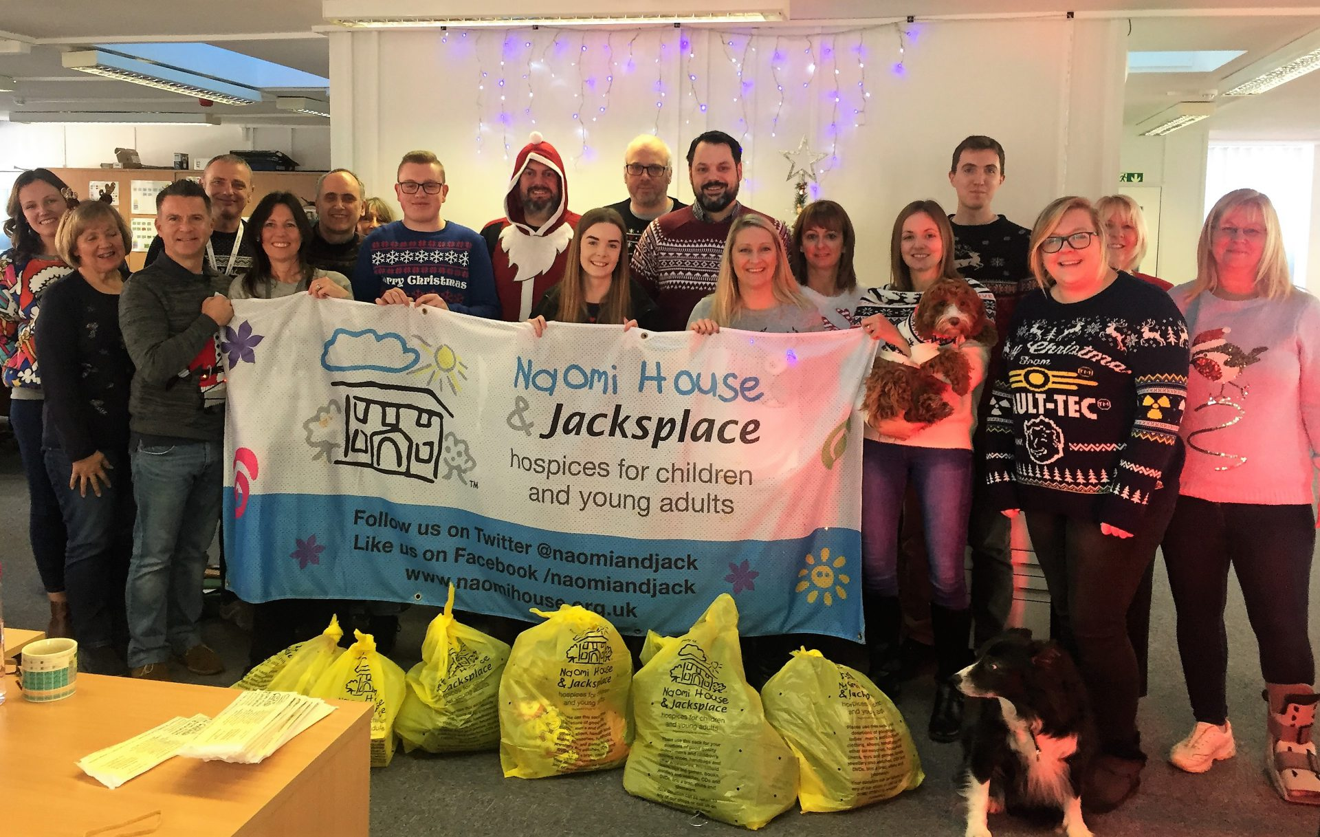 Naomi House Dec 2018 2 1920x1217 - Christmas Jumper Day 2018 and Naomi House & Jacksplace Collection