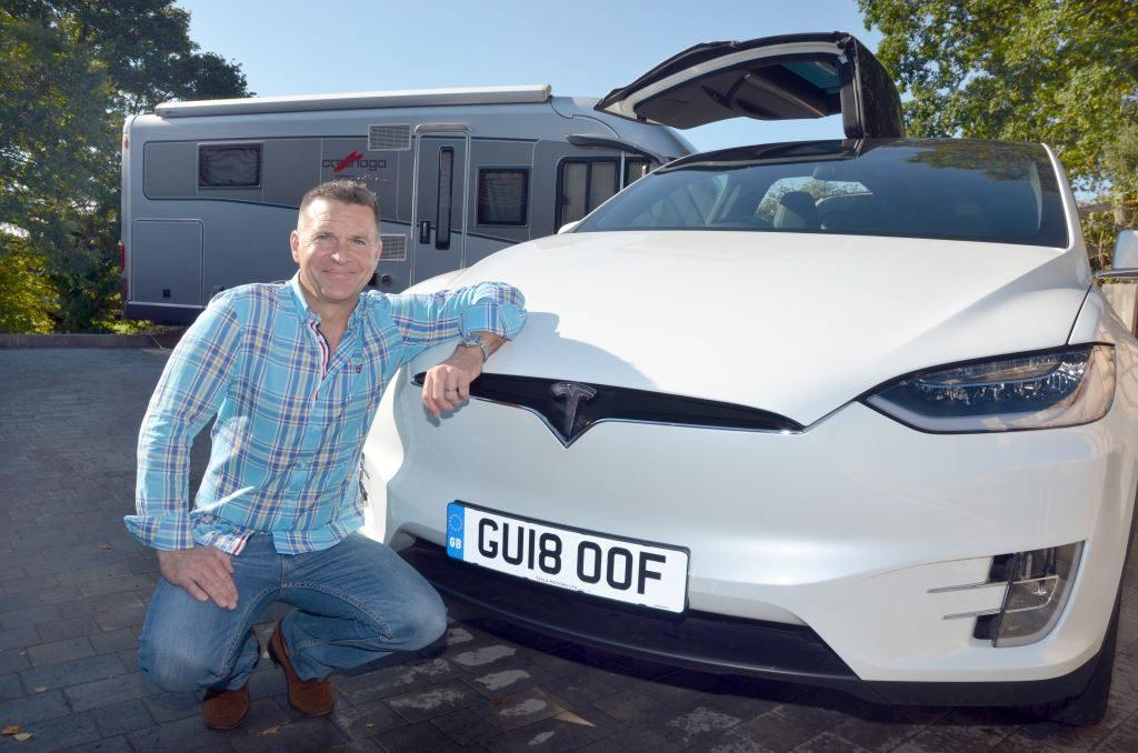 Richard with Tesla 1024x678 - Blog