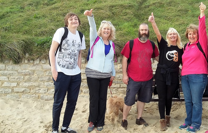 Test Team Charity Walk Oct 2017 cropped - The Test Team Beat Their Fundraising Target for Ataxia UK