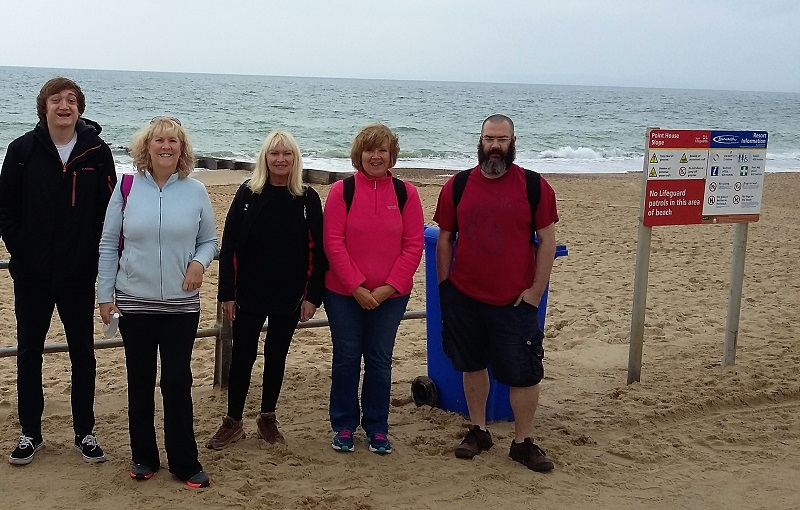 Walk for Ataxia UK - The Test Team Beat Their Fundraising Target for Ataxia UK