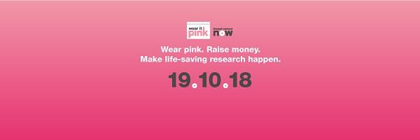 Wear it Pink Web Banner - Wear it Pink 2018