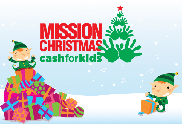 cash for kids - KFA Connect donate toys for Cash for Kids 2015