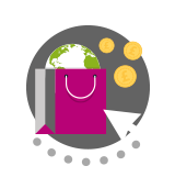 eCommerce solutions icon - Our Solutions